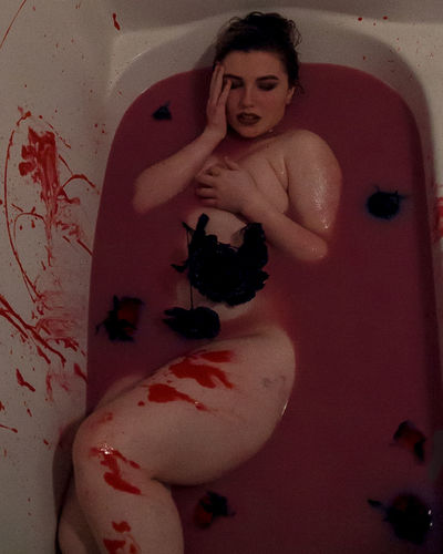 Amy's Blood Bath Black And Red Black Rose Blackandred Blood Bloodbath Bloodred BLOODY Blue Eyes Creepy Girls Gore Gorey Halloween Halloween EyeEm Halloween Horrors Halloween Makeup Halloween_Collection Horror Horror Photography Horror Portrait Horrorart Red Redandblack Women Young Adult