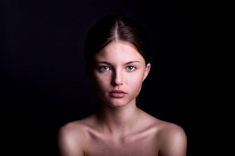 Portrait Of A Friend Girl Portrait Color Portrait Beautiful Beauty DmitryBarykin Studio