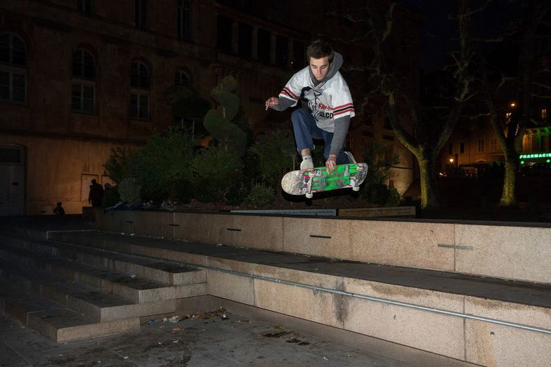 """"""" Night session """" with Thomas. Skateboarding Urban Lifestyle Getting Inspired Shootermag Eye4photography  Open Edit Cityscape Nightphotography Showcase: January EyeEm Best Shots Light And Shadow"""