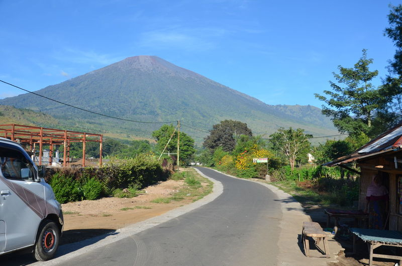 Rinjani Mountain, Lombok, Indonesia Agushariantophotography Car Day Landscape Mountain Nature No People Outdoors Rinjani Mountain Road Segara Anak Lake Shadow Sky The Way Forward Transportation Travel