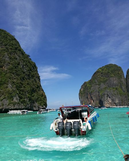 Phuket Sea Nautical Vessel Blue Astrology Sign Beach Outdoors Beauty In Nature No People Day