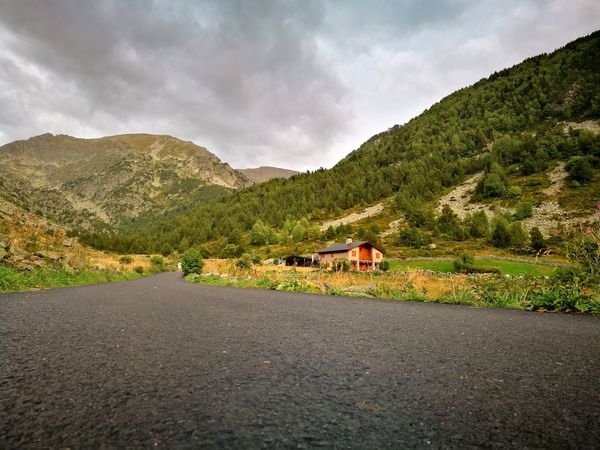 Mountain Cloud - Sky Landscape Road No People Outdoors Tranquility Nature Beauty In Nature Andorra🇦🇩 Perspectives On Nature