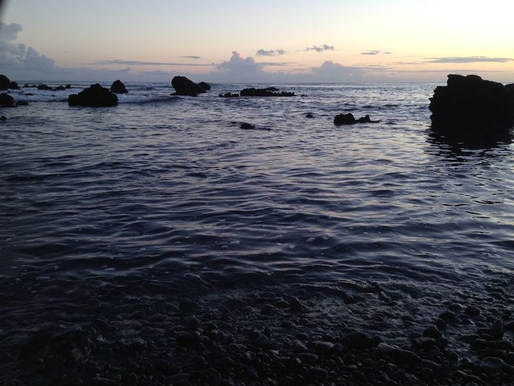 🌅 playa de Las Galletas 🌅 Enjoying The Sun IPhoneography Sunset Water Sea And Sky Sea Atlantic Ocean Ocean Waves Sunset_collection