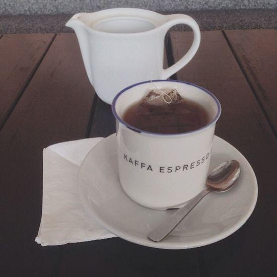Tea time with mum at Kaffa Pia  Lunch EarlGrey tea foodporn drinks tired