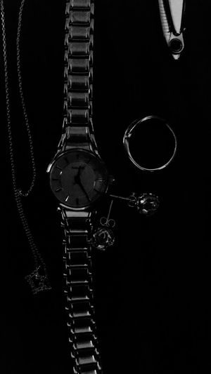 WatchTheClock Black&white Silvery Open Edit