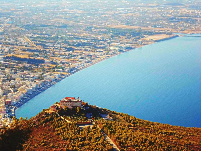 Aerial View Architecture Beautiful Beautiful Nature Beauty In Nature Blue Built Structure City Cityscape Coastline Day Elevated View Greece Greece, Loutraki High Angle View Horizon Over Land Landscape Nature No People Outdoors Residential Building Residential District Residential Structure Sea Golden Moments 43