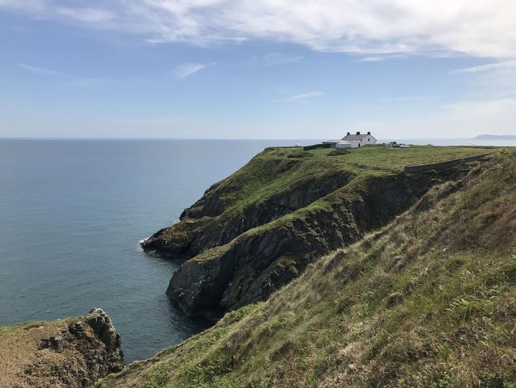 Beauty In Nature Cliff Cliffs Coastline Day Dublin Grass Horizon Over Water Howth Idyllic Ireland Ireland🍀 Nature No People Outdoors Rock - Object Scenics Sea Sky Tranquil Scene Tranquility Travel Destinations Traveling Traveling Photography Water