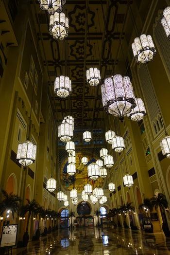 Indoors  Illuminated Dubai IbnBatuta Ibn Battuta Mövenpick