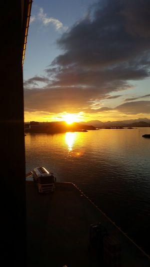 Morning in Ålesund.