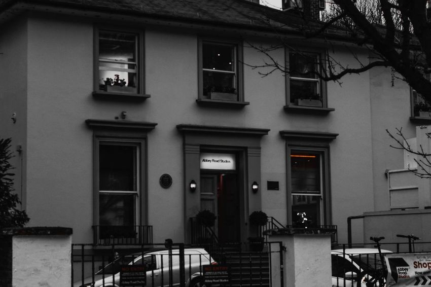 Building Exterior Window Architecture Outdoors Built Structure No People Tree Day Blackandwhite Photography London Life Enjoying The Moment Taking Photos Eyeemphotography EyeEm Gallery Eyeem Market Canon Eos  Making Memories<3 Family Time February 2017 Abbey Road Studios Famous Place The Beatles Music