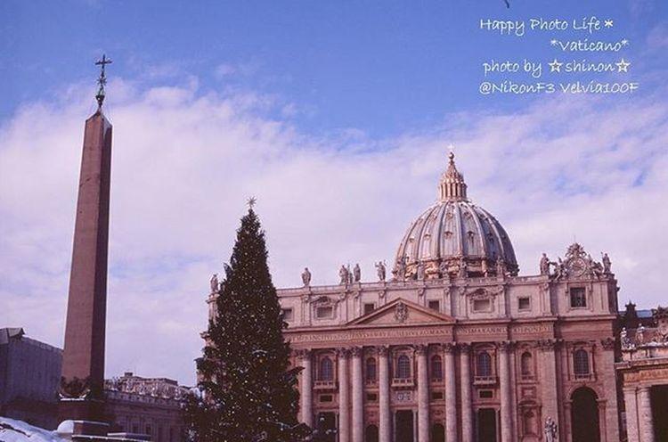 * 過去写真 Nikonf3から覗いた風景 * Italy Rome Vatican Vaticano Honeymoon Nikon Nikonf3 Nikonphotography Film Filmcamera Velvia100f Velvia ファインダー越しの私の世界 写真撮ってる人と繋がりたい 写真好きな人と繋がりたい Keepfilmalive Special_spot_ Shinon_film Shinon_film_sky Landscape