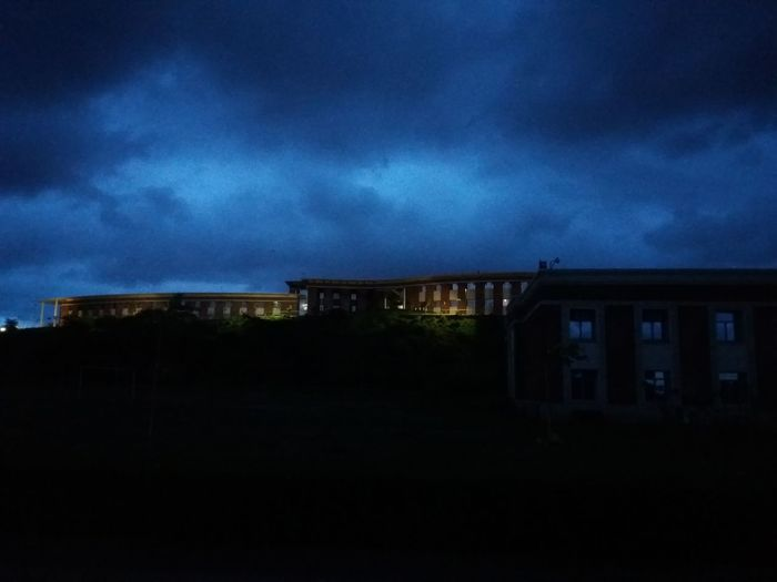 great view Amity Point Amity University Architecture Beauty In Nature Blue Building Built Structure Cloud Cloud - Sky Cloud Formations Cloudy Colors Of Life Dark Dramatic Sky Exterior Illuminated Lights Nature No People Outdoors Overcast Sky Tranquility Viewpoint Weather