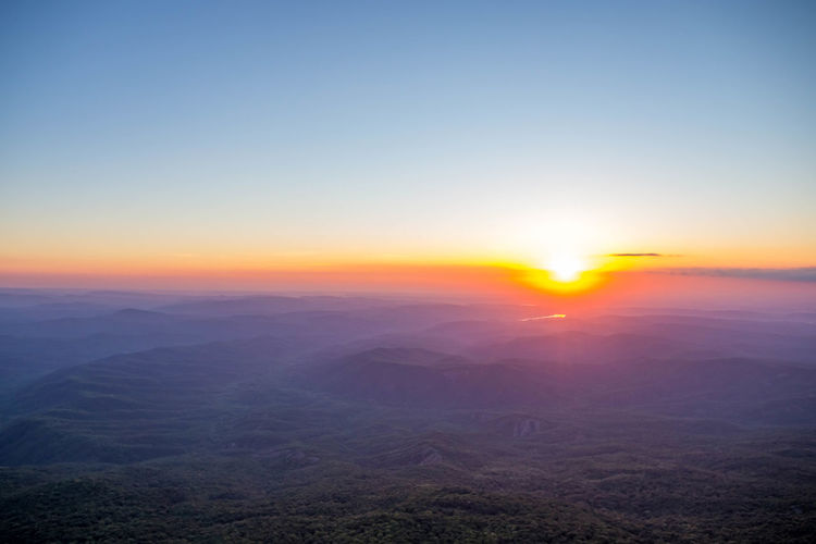 Aerial View Beauty In Nature Cloud - Sky Copy Space Dramatic Landscape Environment Horizon Idyllic Landscape Nature No People Non-urban Scene Outdoors Scenics - Nature Sky Sun Sunlight Sunset Tranquil Scene Tranquility Water