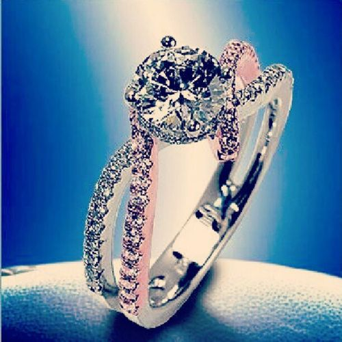 Dreamring Pink &silver Iwillhavethis Princessstatus ♥