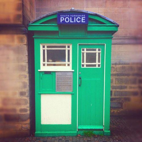 Sole Survivor Surreystreet Policebox Artofinstagram History Uk Sheffield Lastone Socialsheffield Homecity 1outof120 Syp