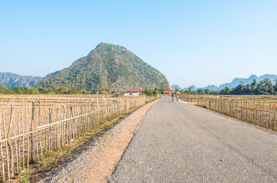 Road to Blue Lagoon,Vangvieng,Laos Blue Lagoon Vang Vieng Vangvieng,Laos