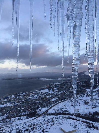 Winter Weather Nature Beauty In Nature Cold Temperature Ice Ushuaia Argentina Let's Go. Together. The Week On EyeEm EyeEmNewHere Breathing Space Investing In Quality Of Life