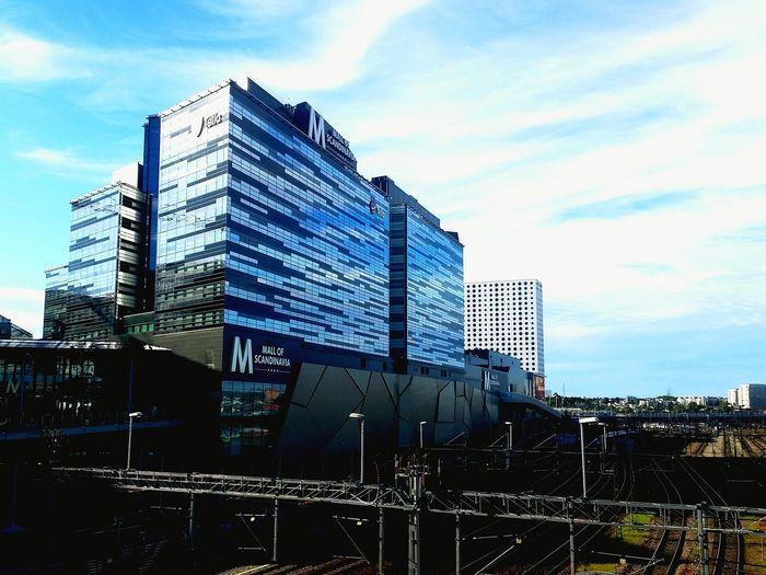 The big M of Scandinavia... City City Life Scandinavianliving Scandinavian Design Architecture Capital City Sweden