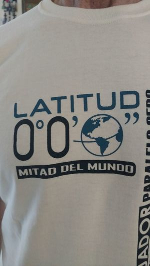 The OO Mission Ecuadortshirt Beenthere Real00 Middleoftheworld LatitudeO0