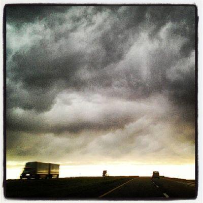 Storm Kansas Interstate Royalsnappingartists Rsa_rural Ig_ruralamerica Trailblazers_rurex Trb_pta Trb_sunsets