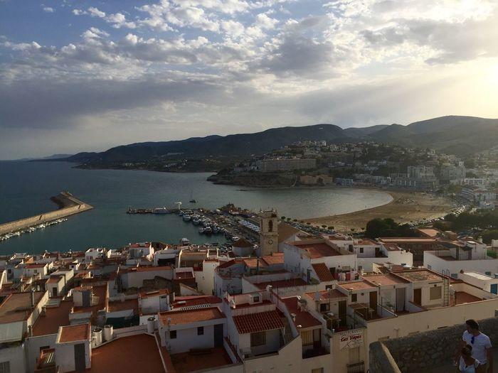 Vistas desde el castillo de Peñiscola Peñíscola Vistas Beach