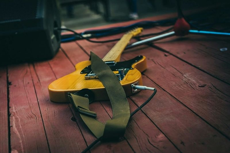 Fender Telecaster Gitar Rock Concert
