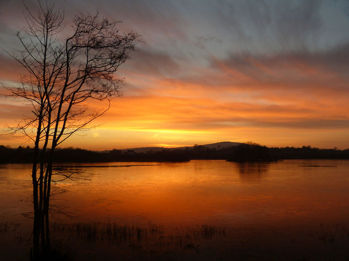 Lavey Lake Sunrise Beauty In Nature Cavan Ireland Landscapes Ireland🍀 Lake View Lavey Nature No People Scenics Sunset Tranquil Scene Water