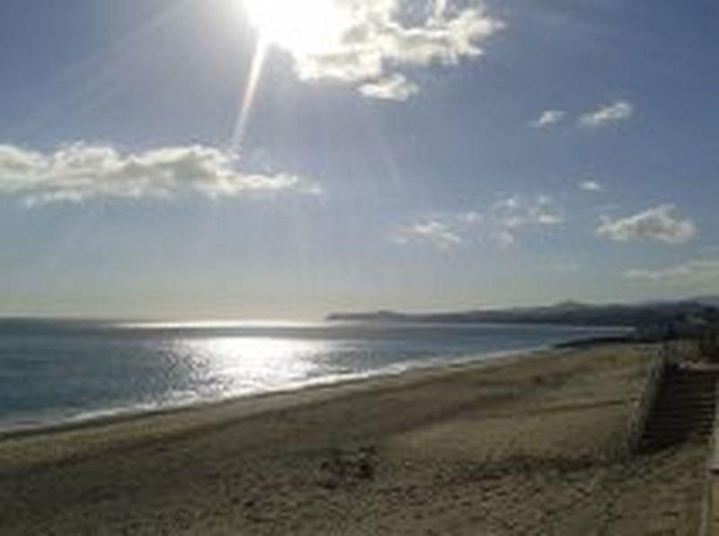Beach Bovalino (RC) Horizon Over Water Hot Winter Perspective Reggio Di Calabria Sun Tranquil Scene