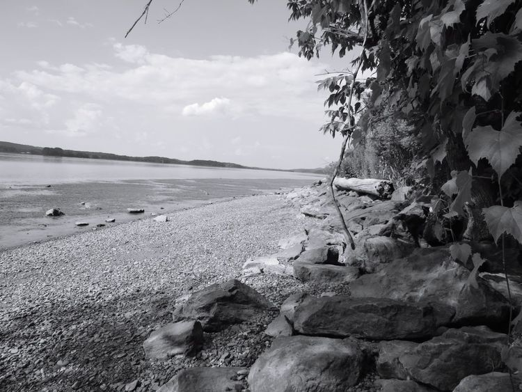 Outdoors No People Water Nature Beauty In Nature Scenics Hudson River Hudson Valley Breathing Space Investing In Quality Of Life EyeEmNewHere Landscape Tranquility Sky Beauty In Nature Black And White Photography #FREIHEITBERLIN The Great Outdoors - 2018 EyeEm Awards The Traveler - 2018 EyeEm Awards