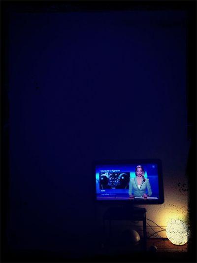 Watching Tagesschau