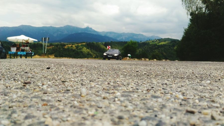 Mountain And Car The Drive. The Drive Asuszenfone2photography