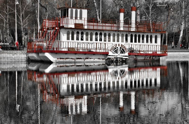 Boats Day Eye4details Eye4photograghy Eye4photography  EyeEm Best Edits EyeEm Gallery EyeEm Nature Lover Lake View Old But Awesome Old Transport Outdoor Photography Steamboat Steamship Vintage Boat Water Reflections Water Transportation Water_collection Showcase: February