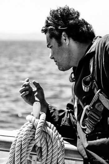 I got the chance to sail for few days aboard the French 3 mâts Belem back in the summer 2014. Such a great experience to navigate on this astonishing ship. We went from Marseilles to Nice passing through the Golden Islands. Belém Black And White Bnw Bnw_collection Canvas Crew France French Lifeatsea Man People Portrait Sail Sailing Sailing Ship Sailor Sea Seascape Sky South France Tallship The Belem Tide Travel Waves