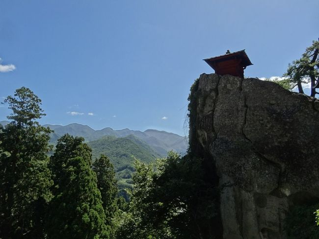 立石寺(Rissyakuji) 山寺 Yamagata,Japan Mountains And Sky Japanese Temple