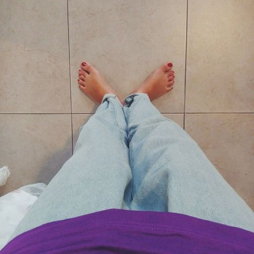 Thôi. Nghỉ. Nghiêmmmmmmmmmmmmmmmmmmmmmmmmm. Feet Baggypant Jeans Purpletee