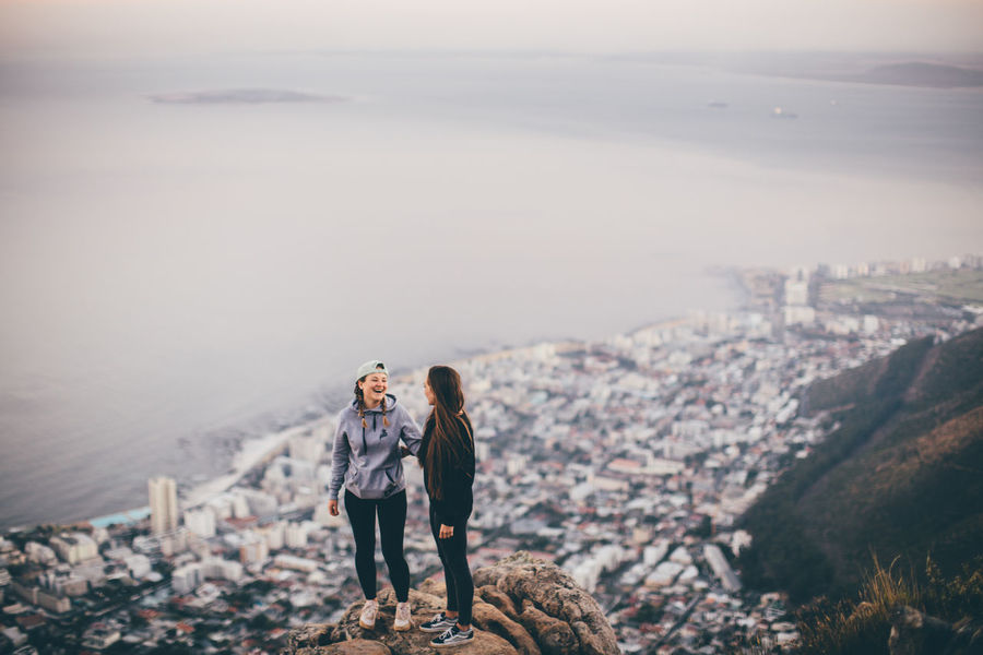 Cape Town City Cityscape Friends Fun Lions Head Traveling Trip View Wanderlust Woman Adventure Africa Capetown Girl Girls Hike Lionshead Mountain Nature Outdoors Southafrica Sunrise Women
