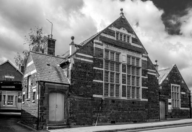 Saint Heliers, High Street, Wellingborough, Northamptonshire Northamptonshire Wellingborough Monochrome FUJIFILM X-T10 Black And White Architecture
