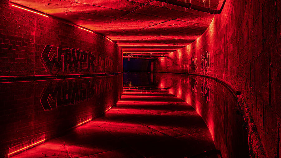 Leipzigs underground ツ Colors Dark EyeEmNewHere Hu5ky Leipzig Red Reflection Architecture Building Dark Diminishing Perspective Direction Leipzigartig Lighting Equipment No People Photography Red Red Color Reflections Reflections And Shadows Reflections In The Water Refreshment Sharp The Way Forward Waver