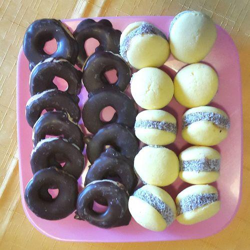 Foodporn Sweet Sweet Food Dessert Time! Chocolate Chocolat Chocolate♡ Maicena Alfajor De Maicena Rings Of Chocolate