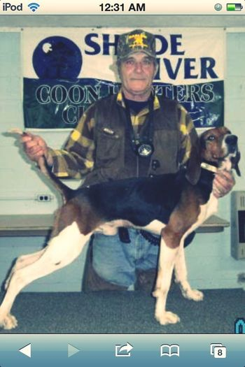 RIP GRANDPA BEST COON HUNTER AROUND THIS SMALL TOWN