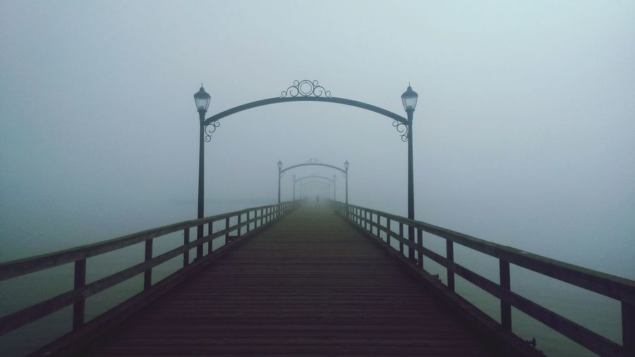 Melancholic Landscapes White Rock boardwalk Believe it or not, this leads to a marina. Jumpintothefog
