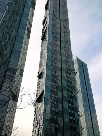 Dalian China The Architect - 2018 EyeEm Awards Sky Low Angle View No People Day Nature Architecture Built Structure Skyscraper Cloud - Sky Office Building Exterior City Building Glass - Material