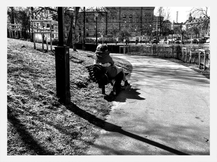 Streetphotography Blackandwhite AMPt_community Where There Is Light, There Is Love.