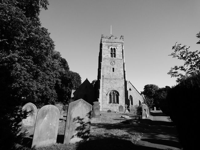 St Mary's Church Bolton on Swale Memorial Outdoors Graveyard Place Of Burial Showcase: September Place Of Worship Cemetery Tombstone Church History Architecture Photography Tranquil Scene Built Structure Religion No People Tree Architecture Built Structure Building Exterior Tree Tower History Clear Sky Church