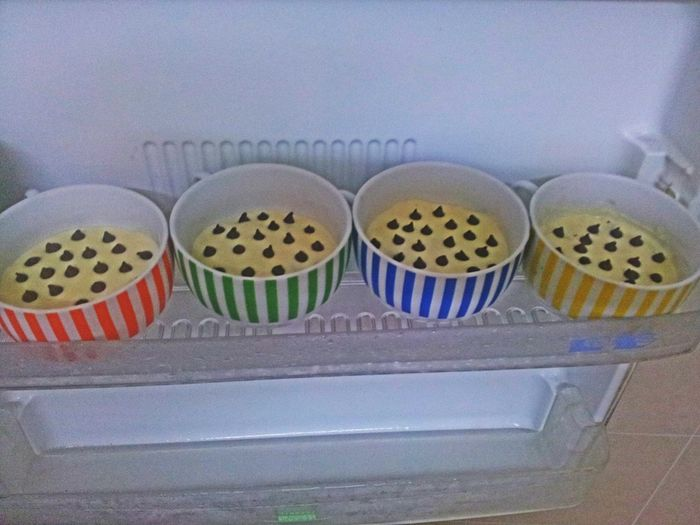 Something sweet is on the way. ^^ No Bake Cake In Cup Sugar Rush Ayu In Kitchen