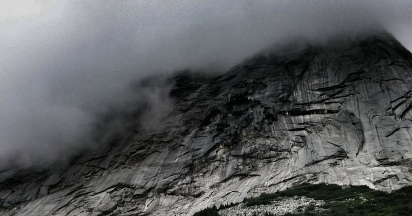beautiful Canadian Rockies...ill never get tired of them Beauty In Nature Close-up Clouds EyeEm Nature Lover Geology Mountains Natural Pattern Nature No People Outdoors Rock - Object Rock Formation Storm Clouds Textured  Castle Mountain Kiomi Collection Showcase April Canadian Rockies  Mountain Addict