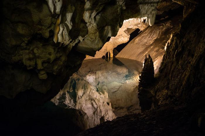 The hidden mirror Macedonia Mirror Nature Reflection Skopje Travel Cave Explore Hidden Lake Places Rocks Shadows Stalactite  Stalagmite Vrelo Water