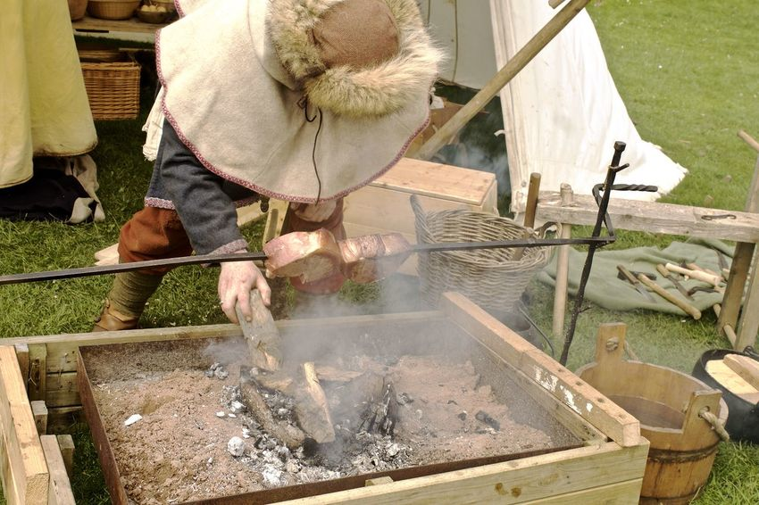 Viking Ways Cooking Cooking On A Spit First Eyeem Photo History Meat Smoke Traditional Cooking Viking Costume Vikings