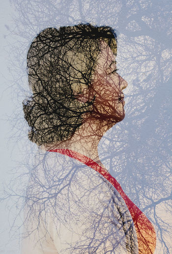 Portrait Portrait Photography Retrato Dobleexposición Doble Exposición Dobleexposure Double Exposure Doubleexposure Tree Woman Portrait Woman Mujer Nikon Nikonphotography Tamron Lens Tamron Mexico