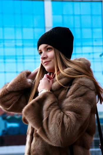 Model Daria Romanovna Winter Mink Coat Young Adult Fashion Adult Only Women Warm Clothing One Woman Only People One Person Young Women Beauty Portrait Shades Of Winter Stories From The City The Portraitist - 2018 EyeEm Awards